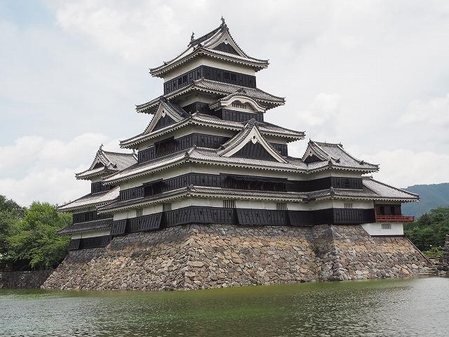 松本城はかっこいい